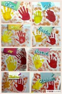 Starter's Handprints